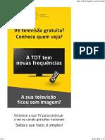 Anacom - TDT