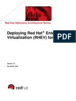 Deploy Rhev v1