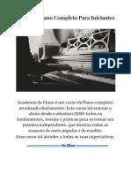 Curso de Piano Completo Para Iniciantes (1)