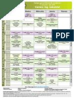 04 Horarios Primer Semestre Cursado FR San Rafael 2020 Industrial 1