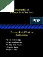 Pressure Relief Devices Scott Ostrowski