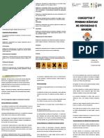 Normas y Conceptos básicos de seguridad e higiene