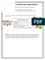 classroom management plan physical education  1