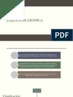 Laringitis Cronica, CA Laringeo