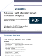 HIT Policy Committee - Nationwide Health Information Network - Governance Recommendations - 121310