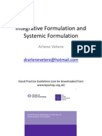 Integrative and Systemic Formulation