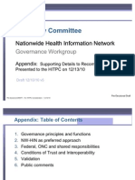 HIT Policy Committee - Nationwide Health Information Network - Governance Recommendations Appendeix - 121310