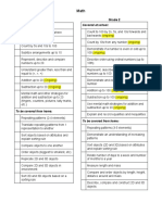 checklists for parents