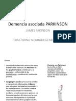 Demencia asociada PARKINSON