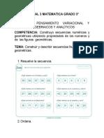 Clase Virtual 3 Matematica Grado 3