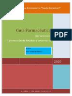 Guia farmaceutica II promocion Med Veterinaria