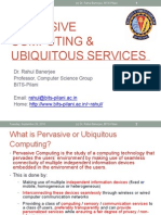 SSZG531 Lecture 1 Introduction to Pervasive Computing
