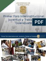 Primer foro Interinstitucional
