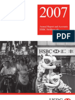 HSBC Annual Review 2007