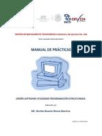 Manual de practicas de ProgEstruc 2014
