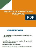 Equipos de Proteccion Personal bomberos