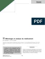 Métrologie et analyse du médicament.pdf