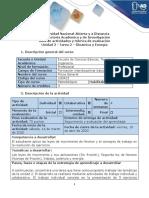Guía de actividades y rúbrica de evaluación - Tarea 2 - Dinámica y energía.pdf