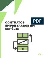 CONTRATOS EMPRESARIAIS EM ESPÉCIE
