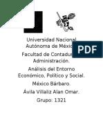 México Bárbaro RESEÑA