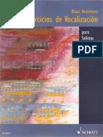 200 Ejercicios de Vocalizacion