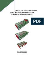 MEMORIA DE CÁLCULO - PEREZ GANBOA