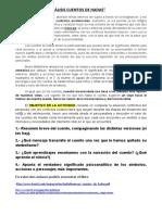 ACTIVIDAD Psicoanálisis de Los Cuentos de Hadas. IES Torreón 2020