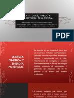 2.3.3.1 Calor, Trabajo y Conservación de La Energía