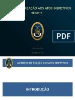 Metodos de reao aos atos inspetivos - SEG2313