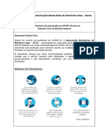 Procedimentos de prevenção ao COVID-19 para os Policiais Civis do Distrito Federal