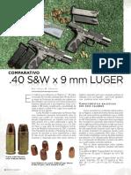 9mm versus 40 - Revista Magnum - Ed 131