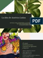 La Idea de América Latina