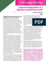 Understanding Gender in a Digitally Transformed World