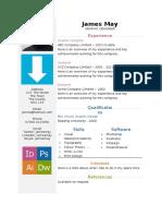 Arrows-CV-template.docx