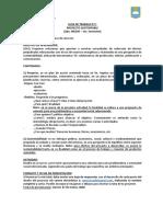 2M, Guia de trabajo Tecnología_ Proyecto sustentable