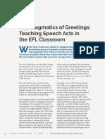 the pragmatics of greetings teaching speecha acts in the classroom.pdf