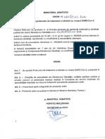 Ordin Ministerul Sanatatii Tratament SARS-Cov-2
