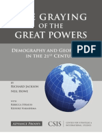 The Graying of the Great Powers - Richard Jackson & Neil Howe