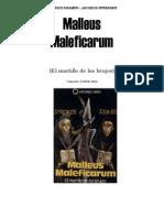 Malleus Maleficarum [Spanish]