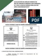 ANÁLSIS SÍSMICO (NORMA E.030-2018)