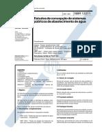 NBR 12211 -1992-NB 587 - Estudos de concepcao de sistemas publicos de abastecimento de agua