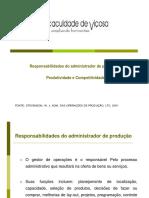ARISTIDES 3.3 Aula 4 - Responsabilidade e produtividade