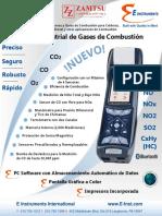 E4500_Analizador de Emisiones y Gases de Combustión Industrial-ESPAÑOL