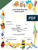 diplomas 2do