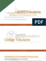 NORMAS Y CRITERIOS APLICABLES AL 2020