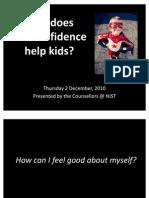 NIST SelfConfidenceSession27November2010