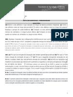 LISTA DE EXERCÍCIOS PERIODICIDADE