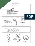 Lingua Portuguesa 1ano 1bimestre