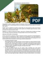 TIPOS DE FAMILIA DE LA COMUNIDAD PRIMITIVA