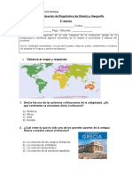 Evaluación de Diagnóstico de Historia 4